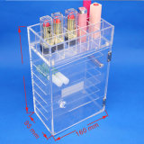 Transparent Multi-Layer Cosmetic Collection Box