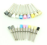 Colorful Hard Nylon Goat Bristle Dental Polishing Brush