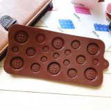 Silicone Button Chocolate Jelly Muffin Sugar Craft Fondant Mold