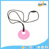 New Baby Nursing Toy for Mom to Wear 100% Food Grade Silicone Teething Pendant Necklace for Chew