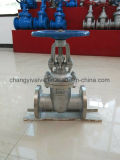 Manual Operated Wedge Flexible Structure Stainless Steel Gate Valve
