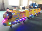 Mall Kiddie Rides Electric Trackless Mini Train Amusement Equipment for Kids and Parents