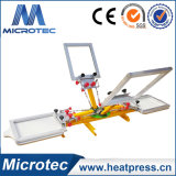 Wholesale 4 Color Screen Printing Machine with Micro Registration Device