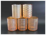 Wholesale Beautiful Round Glass Candle Holders