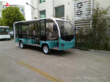 Ce Approved Electric Sightseeing Car 14 Passengers with Curtis Controller
