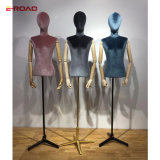 New Design Female Half Body Wrappiug Cloth Mannequins for Window Display Mannequins