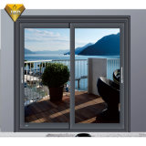 Low MOQ Residential Project W80 Cheap Double Pane Aluminum Metal Sliding Window with Tinted Glass