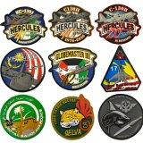 Custom Kuwait Military Police Tactical Gear PVC Logo Rubber Patch Garment Accessories Heat Transfer Embroidery Uniform Decoration Applique Badge Clothing Label