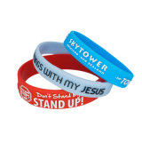 Cheap Gift Items New Bracelet Custom Silicone Wristband