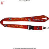 2015 Best Price High Quality Custom Sublimation Polyester Lanyard (YH-L1212)