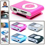 Metal Mini Portable Metal Clip MP3 Player LCD Screen with FM Radio