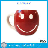 Smile Face Ceramic Cup for Coffee