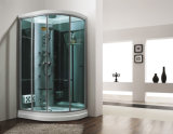 Tempered Glass Steam Shower Sauna Room,