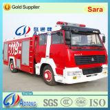 6*4 Styre Fire Fighting Truck/Water and Foam Fire Truck (8000L)
