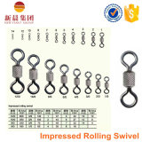 Black Nickle High Strength Impressed Rolling Swivel