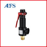 Control/Pressure Reducing/Relief/Industrial Safety Valve Full Lift Spring Threaded Connection Brass Sealed Safety Valve for Air Compressor with Lever (A28W-16T)