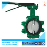 Lug Type Soft Sealing Butterfly Valve with Handle, Rubber Liner Bct-Lt-03
