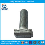 High Quality Galvanized / Hot DIP Galvanized Customized T Head Bolts with Slotted