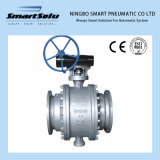 Ss Stainless Steel Trunnion Mounted Ball Valve