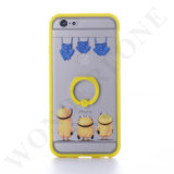 3D Mobile Phone Cases TPU Animal Case with Ring Holder for iPhone