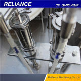Automatic E-Cigarette Glass Bottle Liquid Filling, Stoppering and Capping Machine