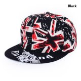 Cool Boys Flat Bill Hip Hop Caps with Printing