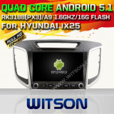 Witson Android 5.1 Car DVD GPS for Hyundai IX25 with Chipset 1080P 16g ROM WiFi 3G Internet DVR Support (A5584)