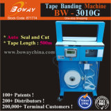Colorful Box Cards Circuit Board Currency Banknote OPP Film Tape Automatic Banding Strapping Wrapping Binding Machine