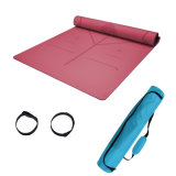 Facotory Price Rubber Eco Yoga Mat Private Label with Bag