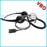 3.5mm Headset with Noise Cancelling Microphone Call Center Headset for Mobile
