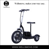 Adult 500W Hub Motor Foldable Three Wheels Electric Mobility Scooter