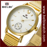 Belbi Fashion Business Waterproof Quartz Battery Women Steel Wrist Watch