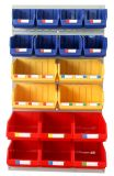 Steel Slotted Storage Metal Warehouse Tire Louvered Panel Rack