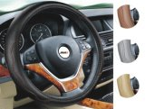 Factory Supply Attractive Price DIY Leather Cowhide Car Steering Wheel Cover