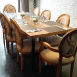 (SP-CS340) American Style Restaurant Long Tables and Chairs Prices