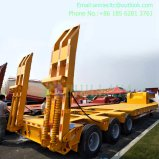 Low Bed Semi Trailer/Semi Lowbed Lowboy Truck Trailer (PLY9503TDP)