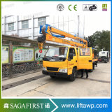 200kg 10m-24m High Altitude Lift Operation Crane Vehicle