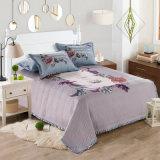 Velvet and Cotton Bed Cover Cheap Designer Bedding Bedspread Set
