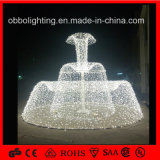 LED Colorful Large Outdoor Decorative Christmas Fountain Light