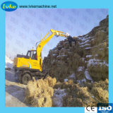 8.5t Wheel Excavator 0.3m3 Bucket Capacity Digger Mini Excavators Wheel Excavators