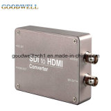 Double Power Supply System Sdi to HDMI Mini Converter