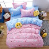 Fabric Home Textile Emoji Bed Linen Bedding