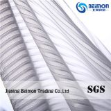 40d Pleated Stripe 91%Nylon Mesh Fabric