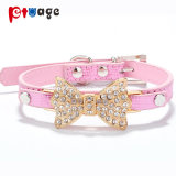 Pet Supply PU Collars Dog Product Decorations Leather Dog Collar