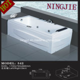 Modern Economic Style Massage Bathtub Whirlpool Tub (Nj-542)