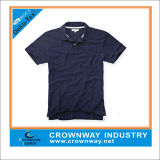 Mens Casual Cotton Polo Shirt with Short Sleeves