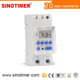 7 Days 30AMP Programmable Digital Time Controller for Water Heater Controls
