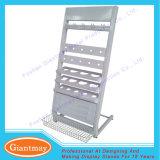 Wholesale Metal Floor Standing Sanitary Ware Product Floor Drain Tool Display Stand Shelving