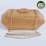 Small Size Wooden Bag Evening Bags Lady Handbag for Party Diamond Bags From China Factory Eb902