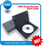 7mm/14mm Black Single/Double CD DVD Case